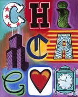 Chicago Flag Fine Art Print