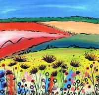 The Allium Fields Fine Art Print