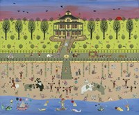 Beach Circus Fine Art Print