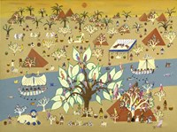 Land of the Pharoahs Fine Art Print