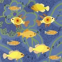 Fishtales 5 Fine Art Print