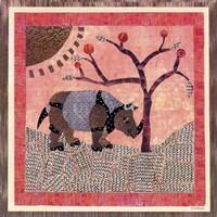 Rhinoceros II Framed Print