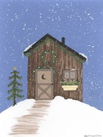 Brown Outhouse Fine Art Print
