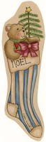 Noel Stocking Fine Art Print