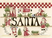 Believe In Santa Fine Art Print