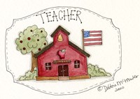 Teacher/School Fine Art Print