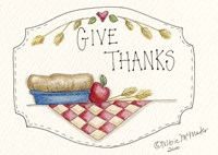 Give Thanks Fine Art Print