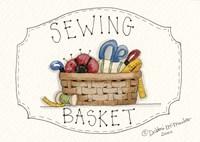 Sewing Basket Fine Art Print