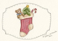 Filled Stocking Fine Art Print
