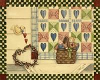 Dove & Quilt Fine Art Print