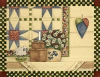 Heart & Quilt Fine Art Print