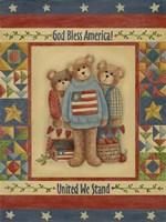 God Bless America - Bears Fine Art Print