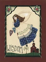 Wisdom Angel Framed Print