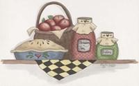 Apple Pie With Basket Fine Art Print