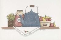 Teapot With Crock Fine Art Print