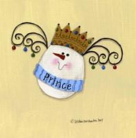 Egg Prince Framed Print