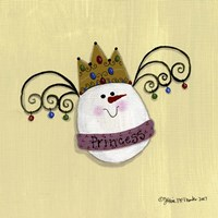 Egg Princess Framed Print
