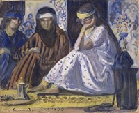 Arab Interior: a Harem, 1895 Fine Art Print