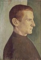 Portrait of the Dutch Painter Jan Verkade, 1893 Fine Art Print