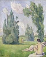 Nude in a Landscape, 1890 Fine Art Print