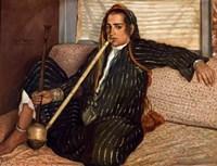 Smoker of Tombac Cairo, 1900 Fine Art Print