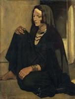Woman Fellah: Shadows and Light, 1901 Fine Art Print