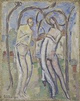 Adam and Eve, 1888 Fine Art Print