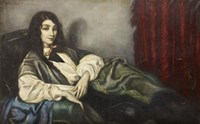 The Green Sofa, 1914 Fine Art Print