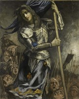 Joan of Arc, 1930 Fine Art Print