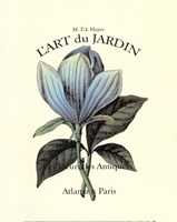 L'art Du Jardin II Fine Art Print