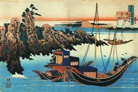 Chinese Fishermen in their Boats Fine Art Print