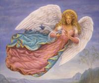 Angel 8 Fine Art Print