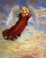 Angel In The Sky Fine Art Print