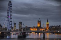 From Waterloo Bridge Fine Art Print