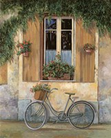 La Bici Framed Print