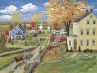 Autumn Chores Fine Art Print