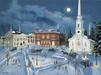 Berkshire Green in Winter (Lee Mass) Fine Art Print
