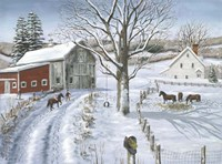 Christmas Delivery Fine Art Print