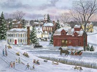 December Eve Fine Art Print