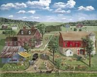 Ma's Farm Stand Fine Art Print
