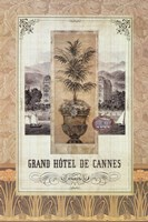 Grand Hotel De Cannes Fine Art Print