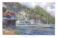 Anchored in Avalon Fine Art Print
