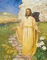 Jesus Has Risen Fine Art Print