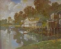 South Port Harbor Fine Art Print