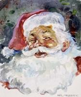 Santa Face Fine Art Print