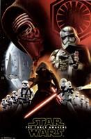 Star Wars 7 TFA - Dark Side Fine Art Print
