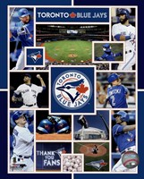 Toronto Blue Jays 2015 Team Composite Fine Art Print