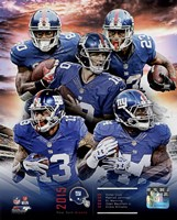 New York Giants 2015 Team Composite Fine Art Print