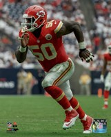 Justin Houston 2015 Action Fine Art Print