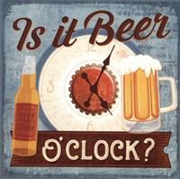 Is it Beer O'clock? Framed Print